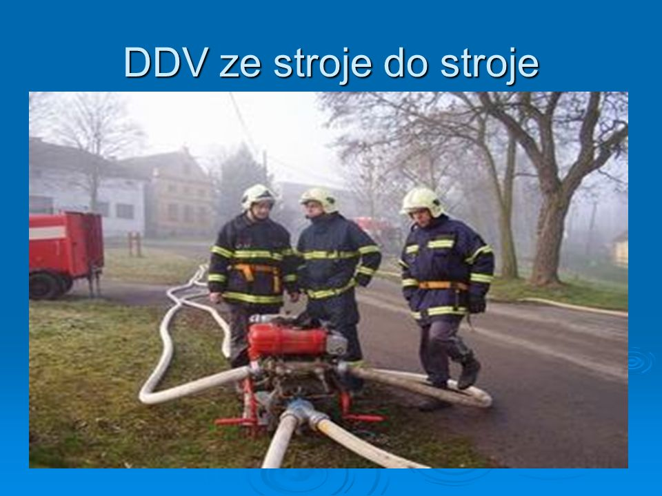 DDV ze stroje do stroje