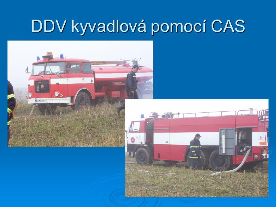 DDV kyvadlová pomocí CAS