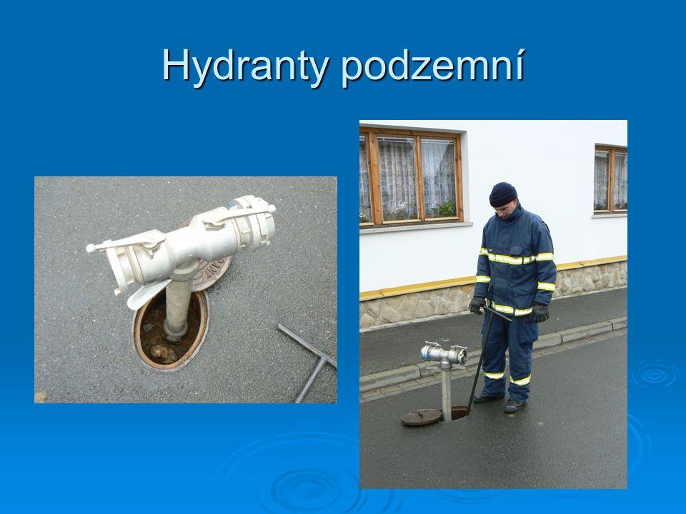 Hydranty podzemní