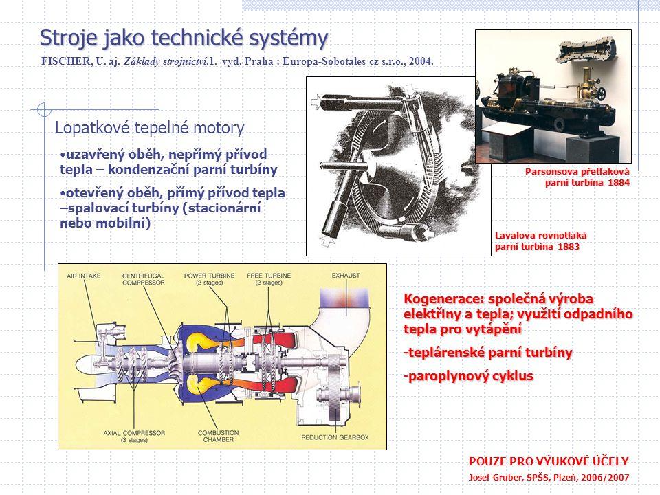 Stroje jako technické systémy