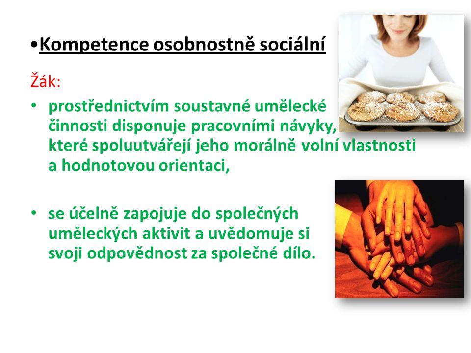Kompetence osobnostně sociální