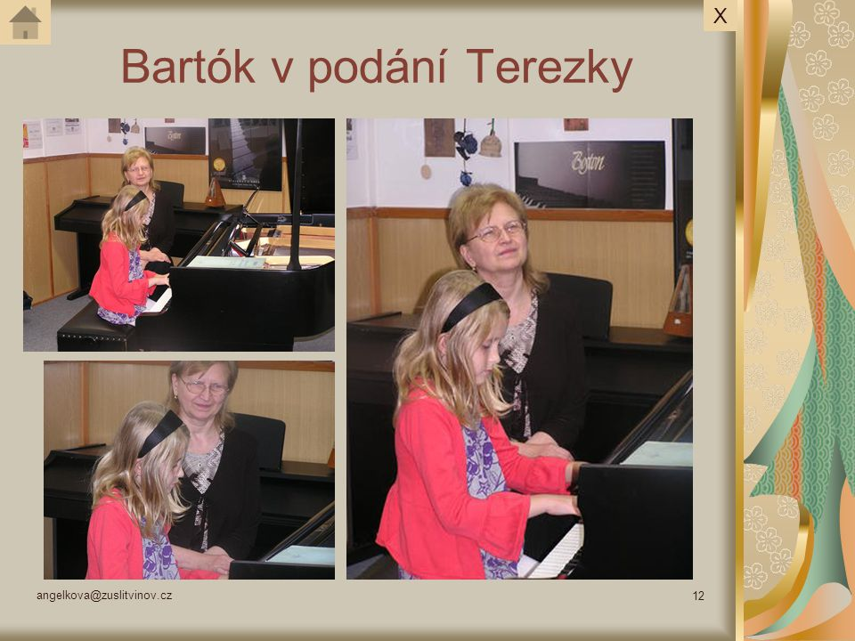 Bartók v podání Terezky