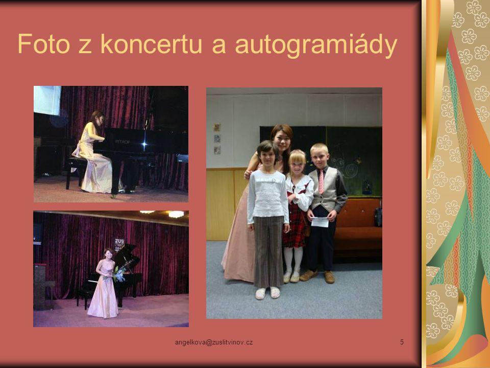 Foto z koncertu a autogramiády