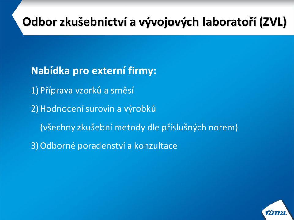 Odbor zkušebnictví a vývojových laboratoří (ZVL)