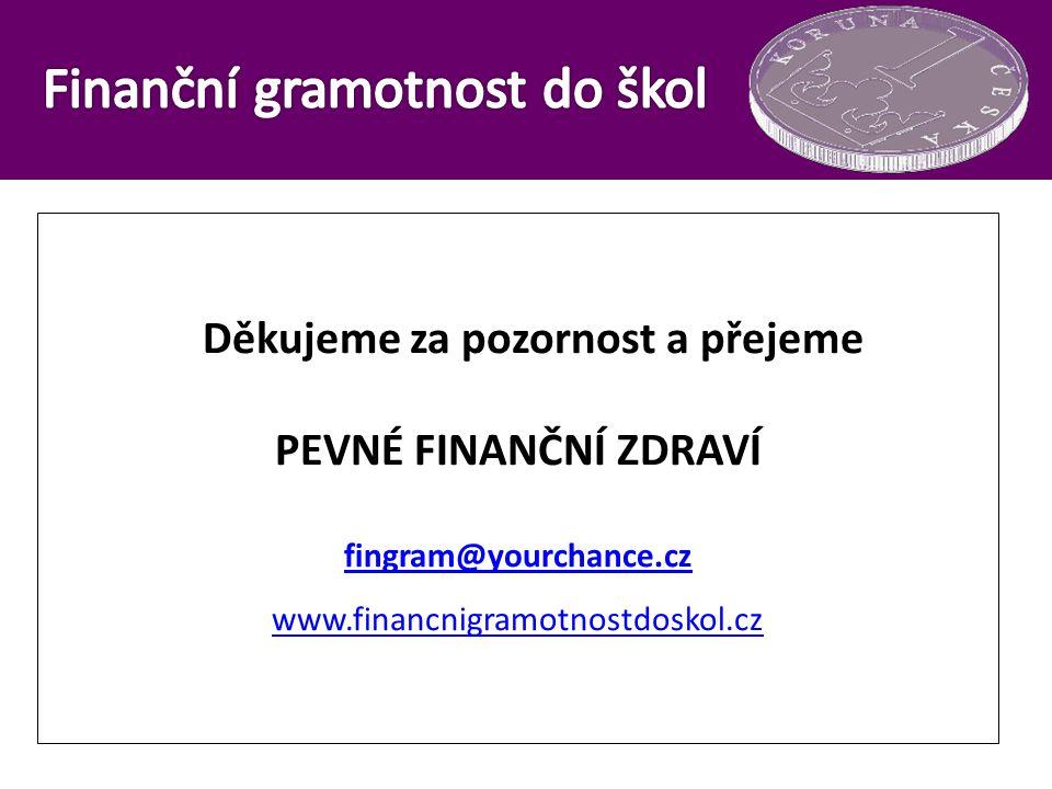 Finanční gramotnost do škol