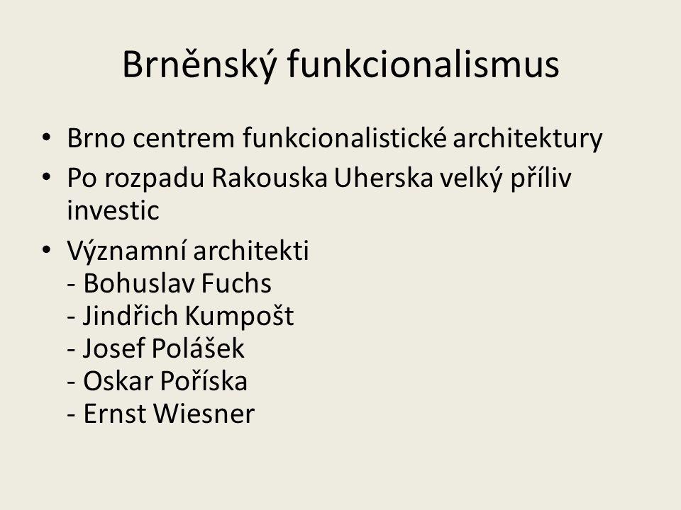 Brněnský funkcionalismus