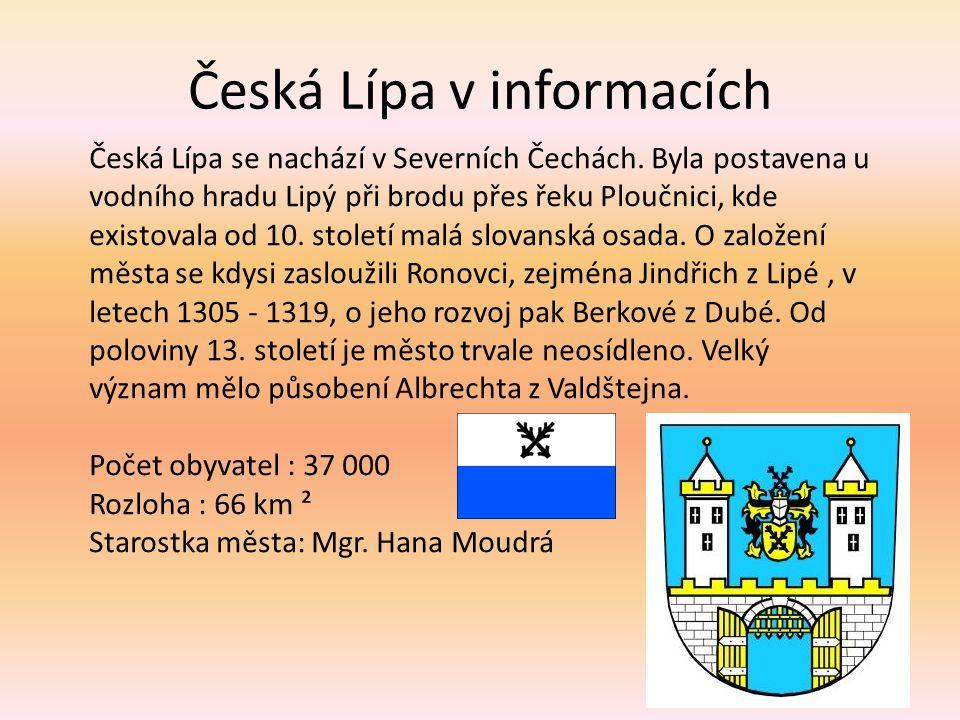 Česká Lípa v informacích