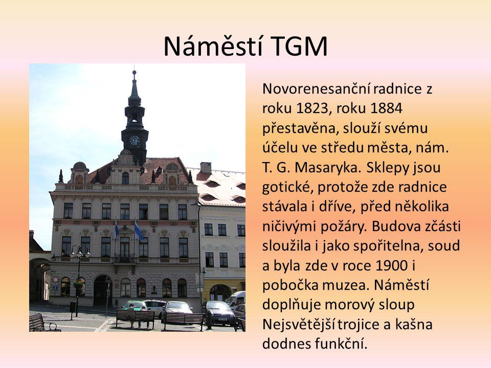 Náměstí TGM
