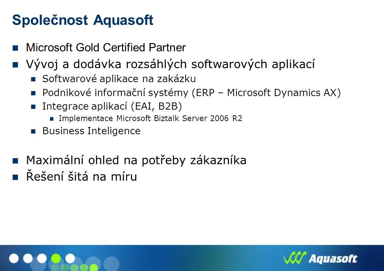 Společnost Aquasoft Microsoft Gold Certified Partner