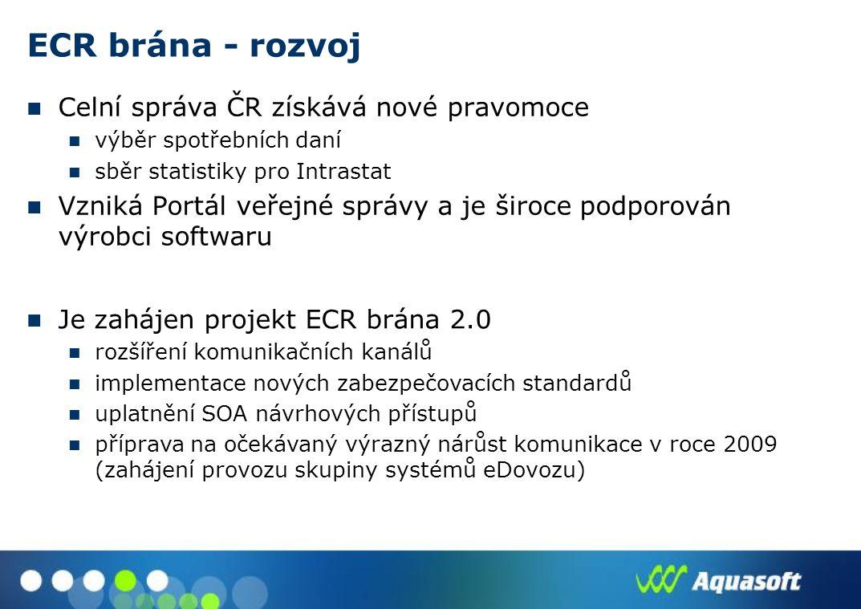 ECR brána - rozvoj Celní správa ČR získává nové pravomoce