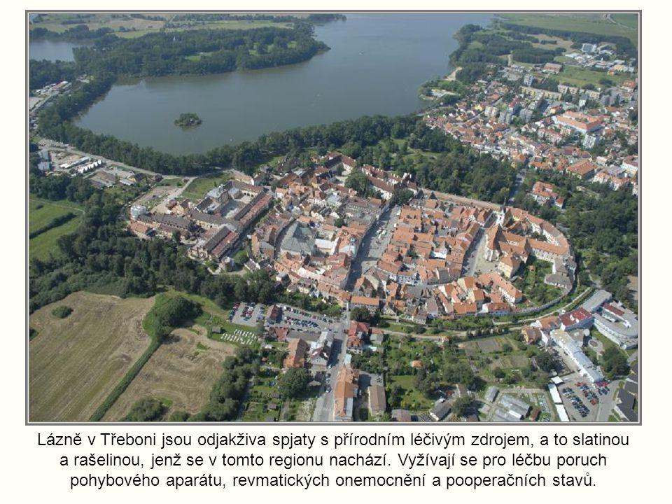 Lázně v Třeboni jsou odjakživa spjaty s přírodním léčivým zdrojem, a to slatinou a rašelinou, jenž se v tomto regionu nachází.
