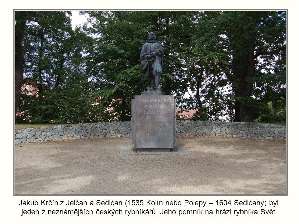 Jakub Krčín z Jelčan a Sedlčan (1535 Kolín nebo Polepy – 1604 Sedlčany) byl jeden z neznámějších českých rybníkářů.