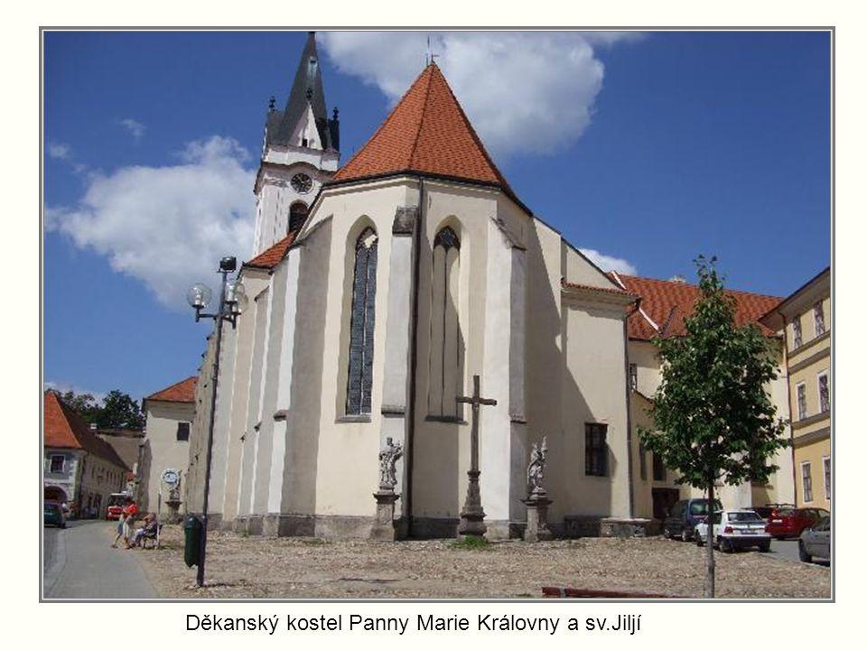 Děkanský kostel Panny Marie Královny a sv.Jiljí