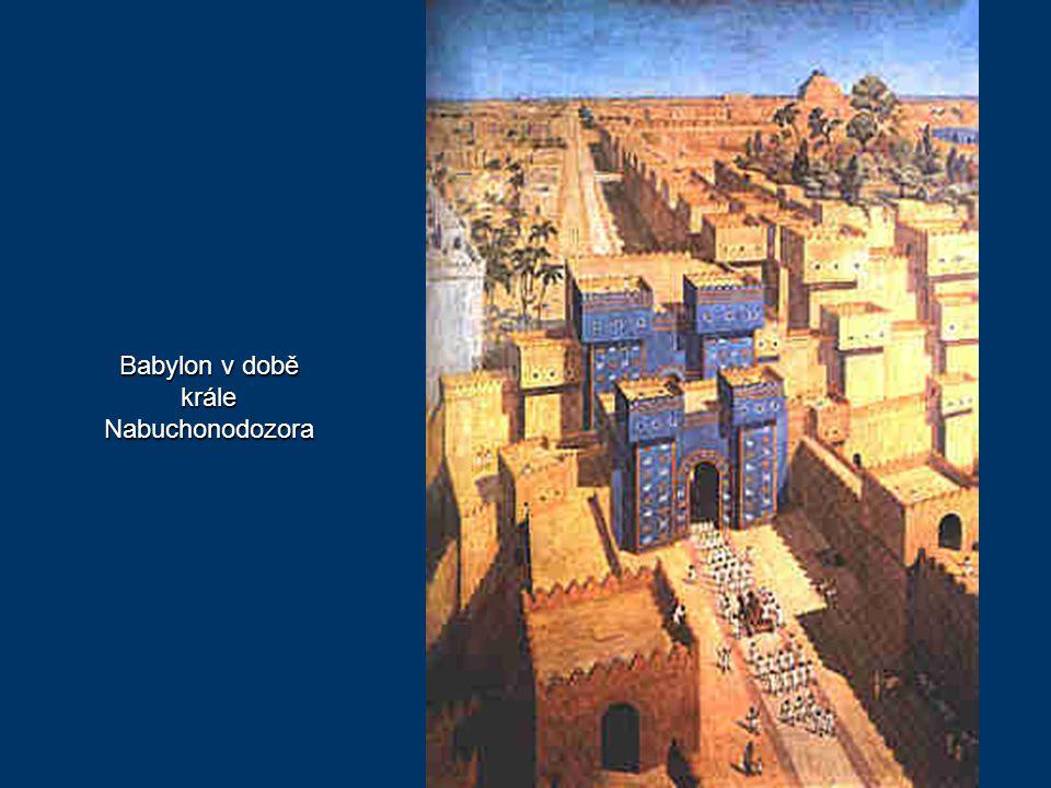 Babylon v době krále Nabuchonodozora