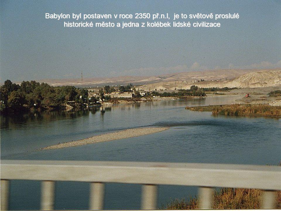 Babylon byl postaven v roce 2350 př. n