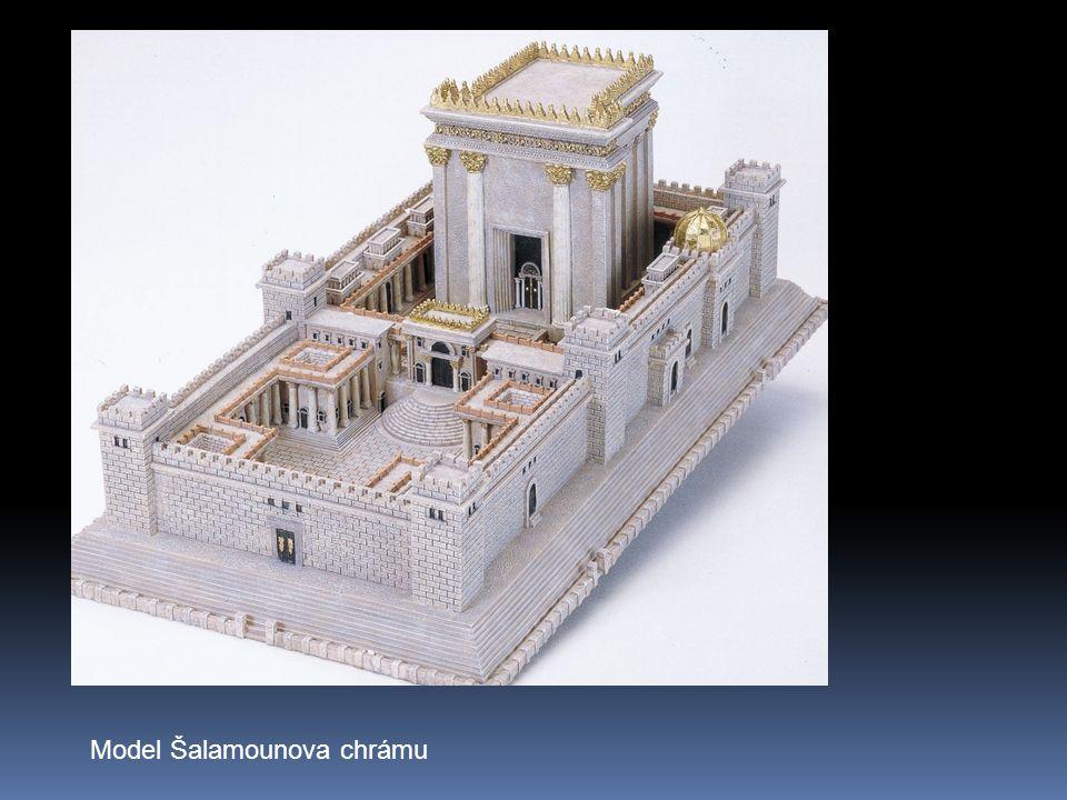 Model Šalamounova chrámu