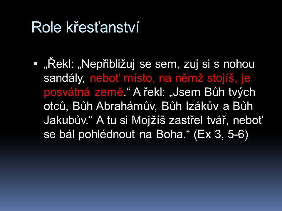 Role křesťanství