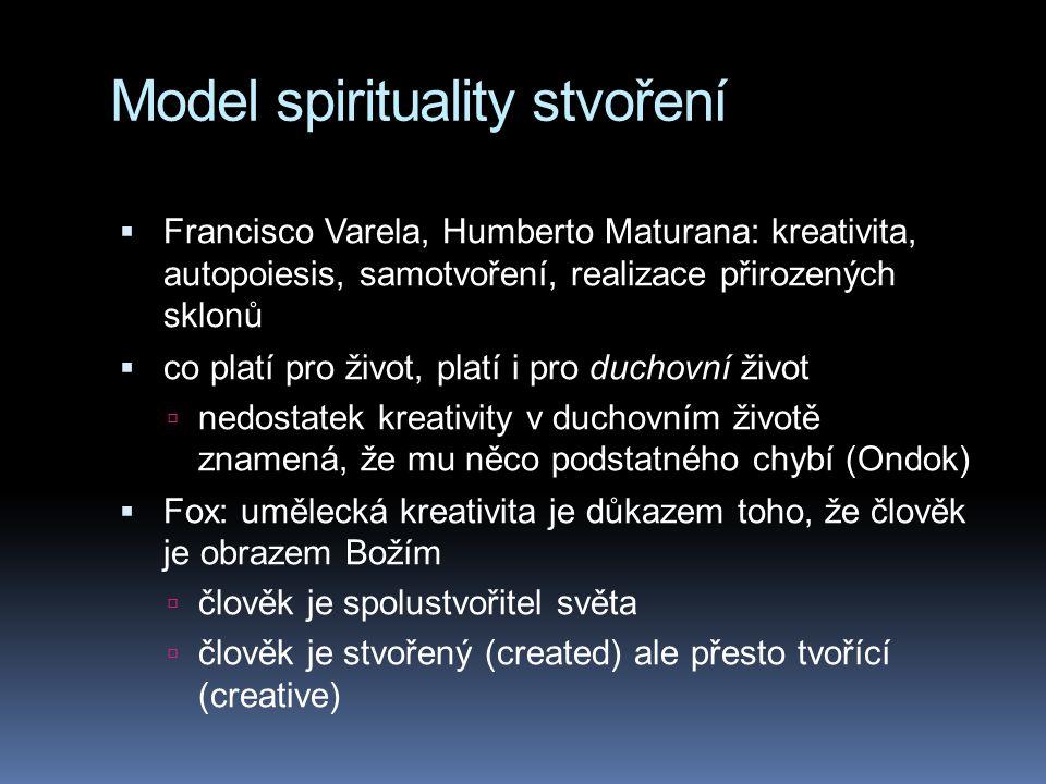 Model spirituality stvoření