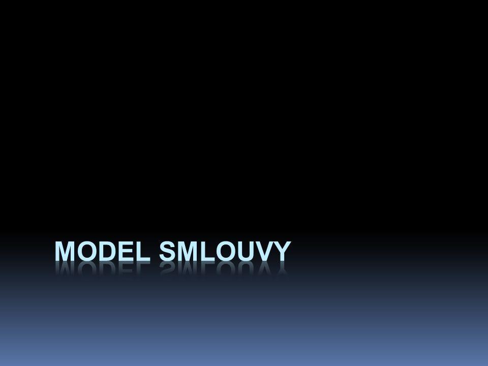 Model smlouvy