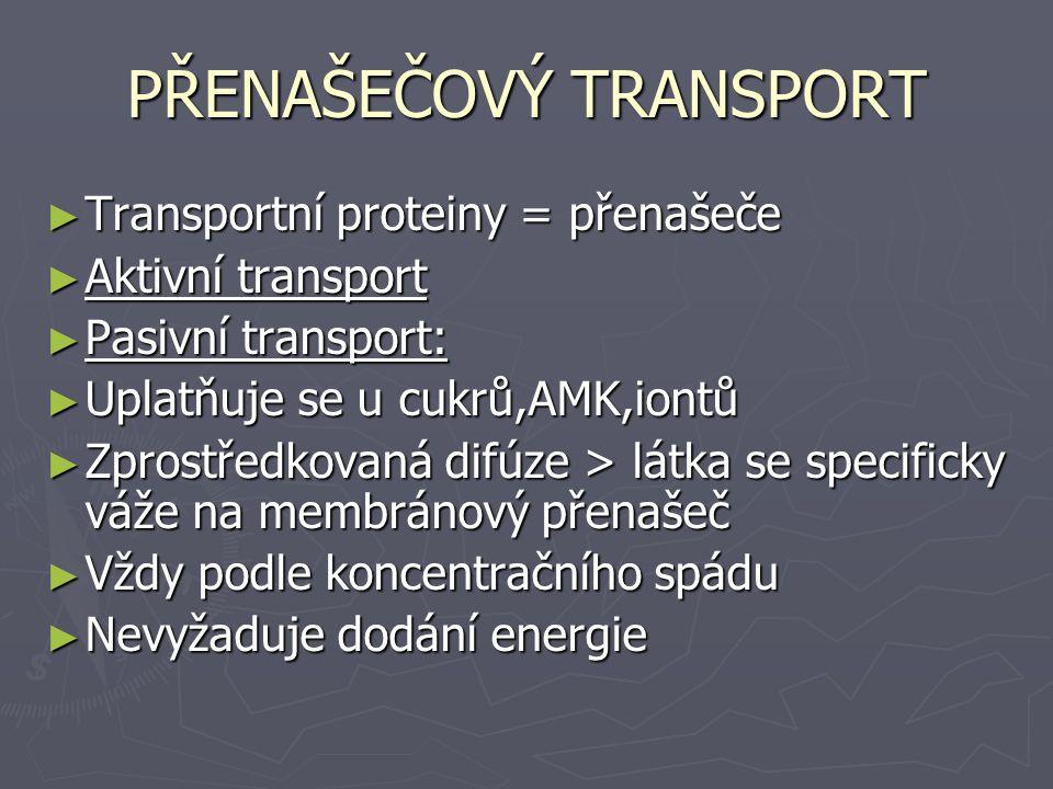 PŘENAŠEČOVÝ TRANSPORT