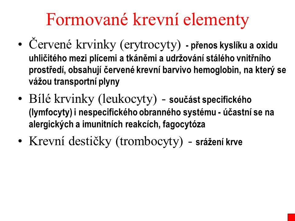 Formované krevní elementy