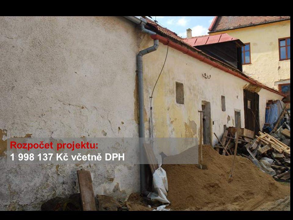 Rozpočet projektu: 1 998 137 Kč včetně DPH