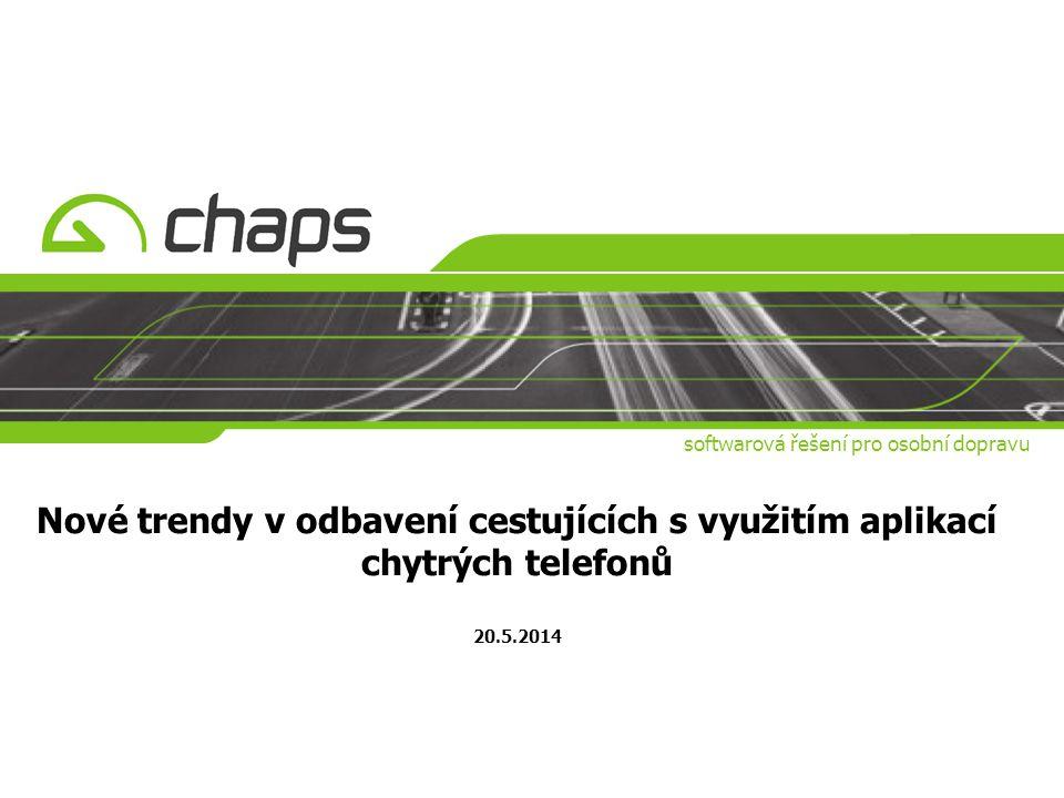 softwarová řešení pro osobní dopravu