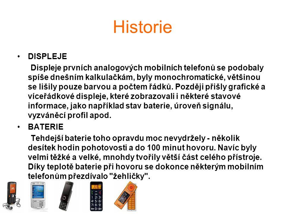 Historie DISPLEJE.