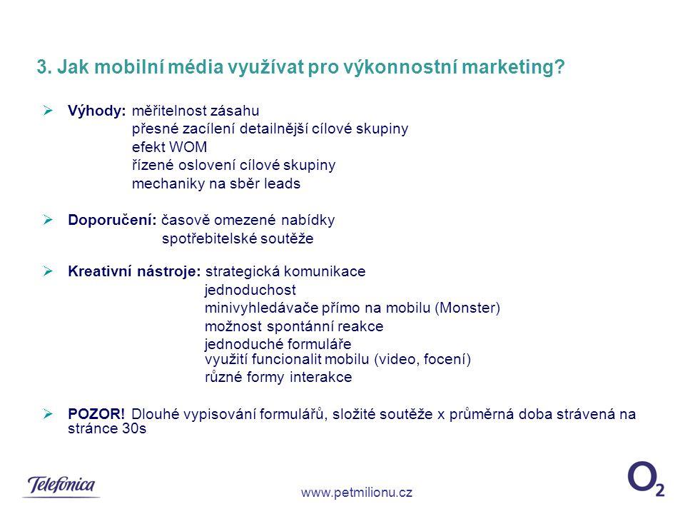 3. Jak mobilní média využívat pro výkonnostní marketing