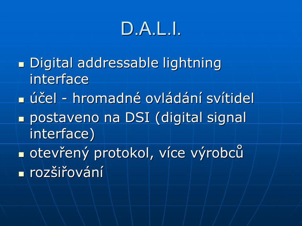 D.A.L.I. Digital addressable lightning interface