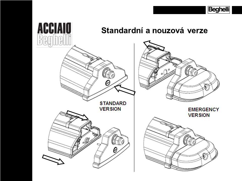Standardní a nouzová verze