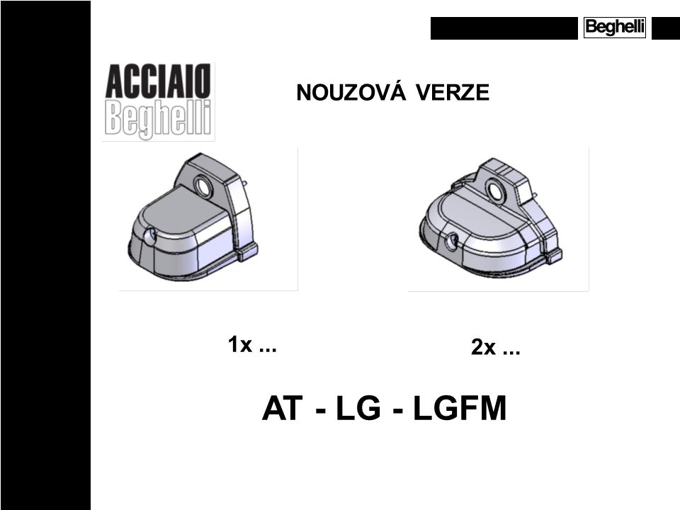 NOUZOVÁ VERZE 1x ... 2x ... AT - LG - LGFM