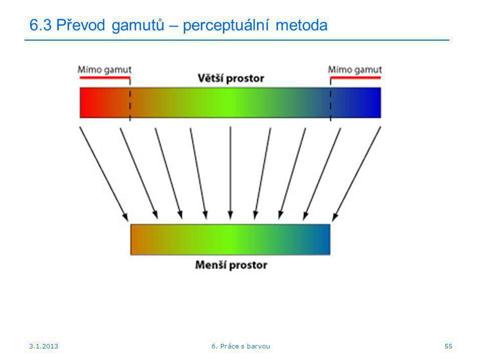6.3 Převod gamutů – perceptuální metoda