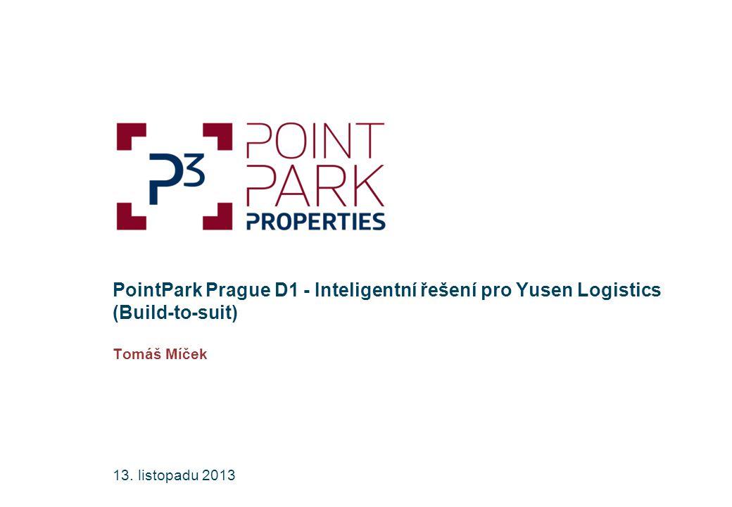 Agenda 2 PointPark Prague D1, budova DCD 1 8