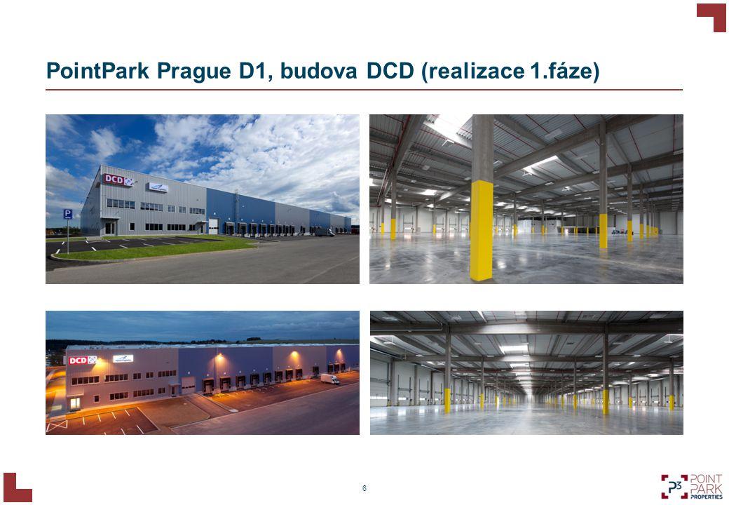 Agenda 2 PointPark Prague D1, hala DCD 1 8 Energeticky úsporná řešení