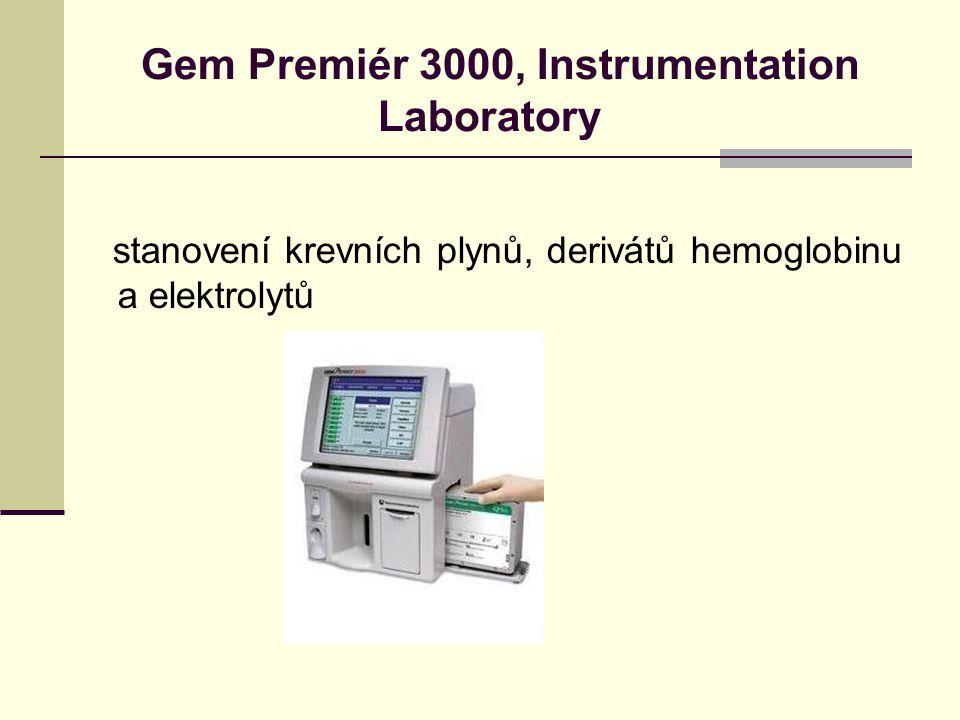 Gem Premiér 3000, Instrumentation Laboratory