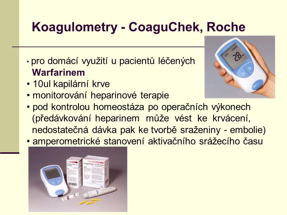 Koagulometry - CoaguChek, Roche