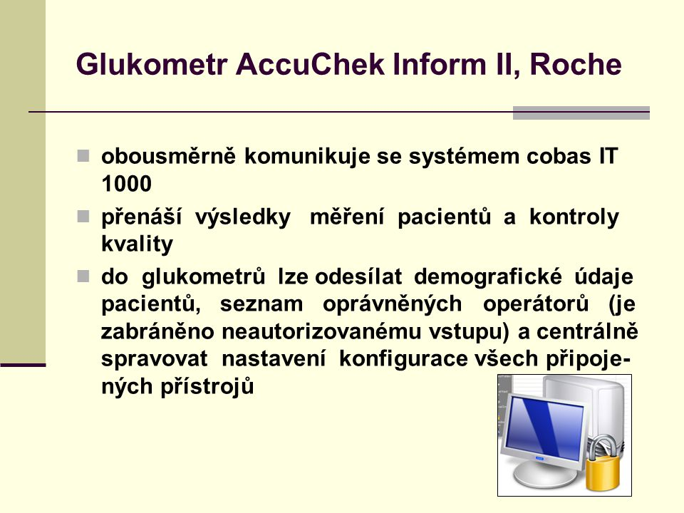 Glukometr AccuChek Inform II, Roche