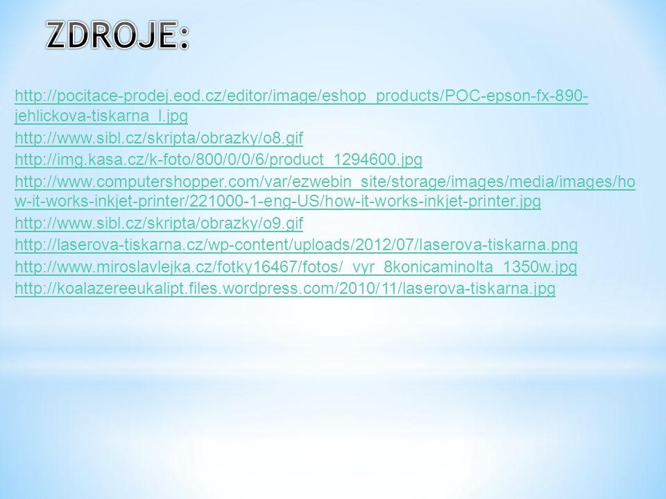 ZDROJE: http://pocitace-prodej.eod.cz/editor/image/eshop_products/POC-epson-fx-890- jehlickova-tiskarna_l.jpg.