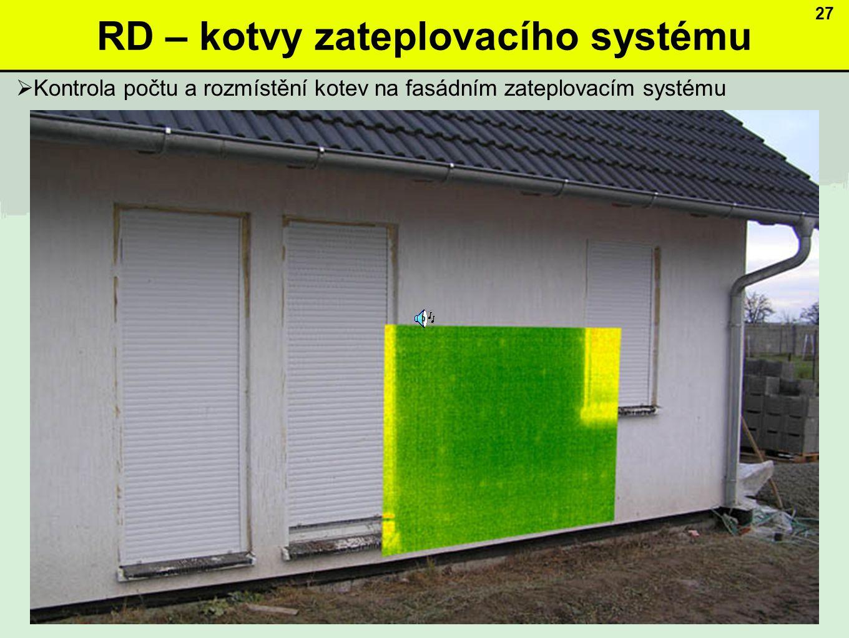 RD – kotvy zateplovacího systému