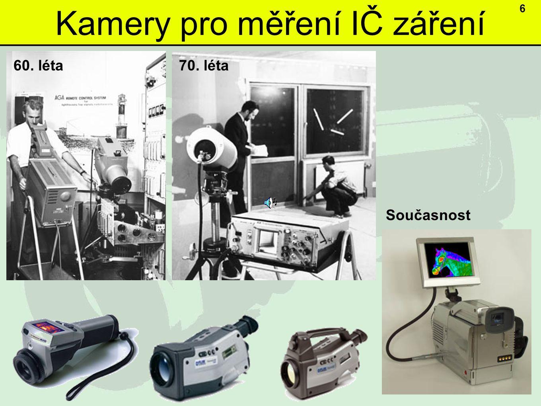 Kamery pro měření IČ záření