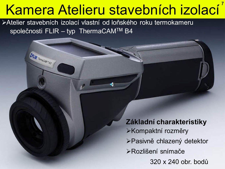 Kamera Atelieru stavebních izolací