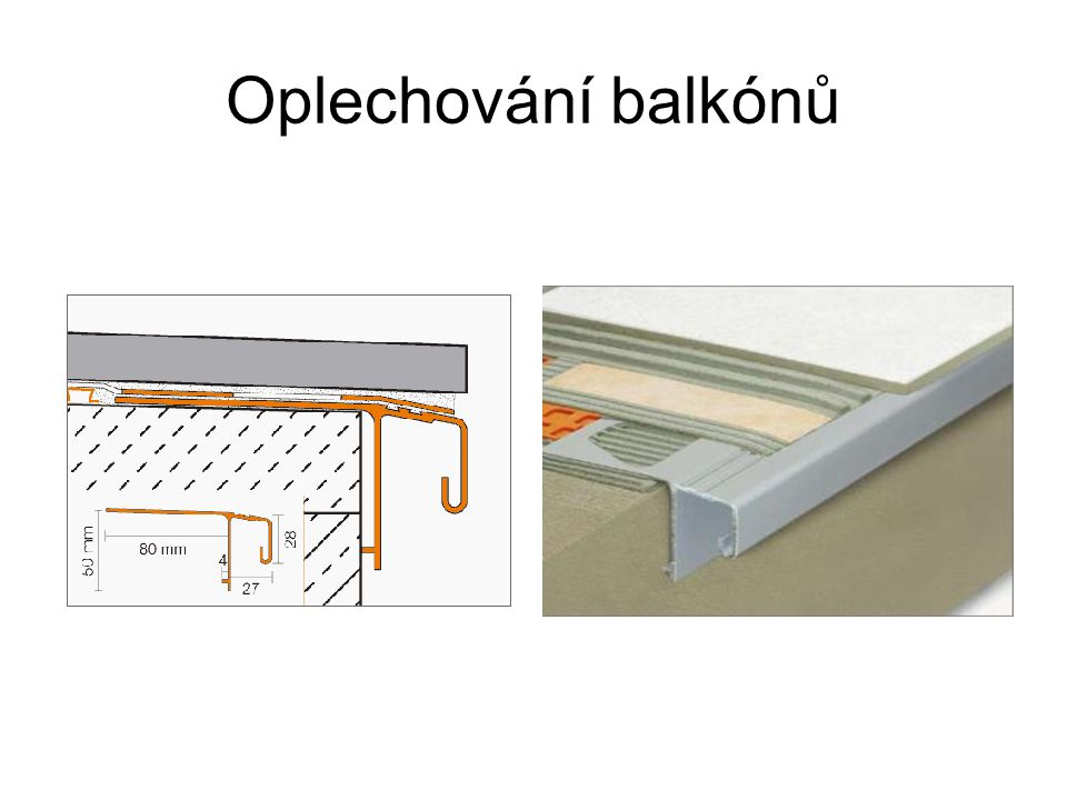 Oplechování balkónů