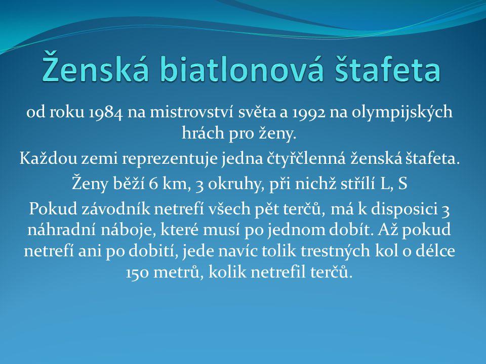 Ženská biatlonová štafeta