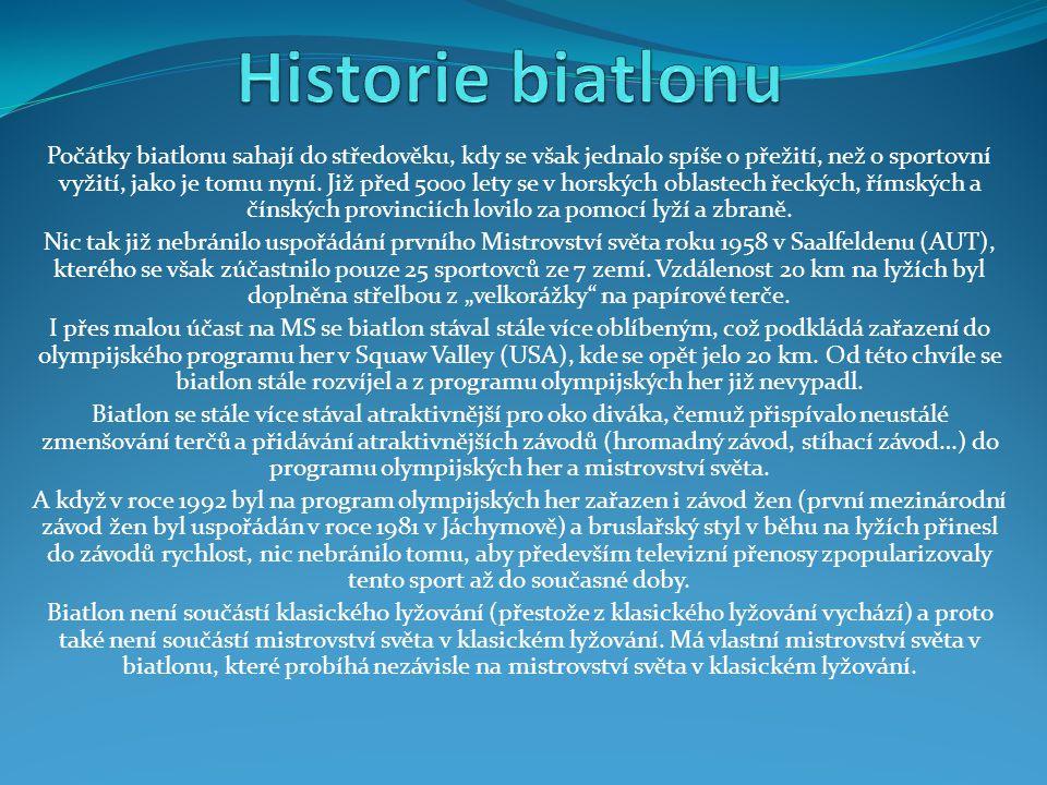 Historie biatlonu