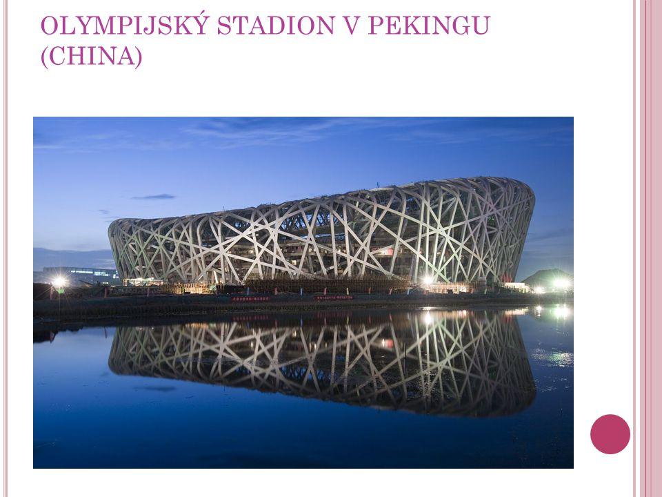 OLYMPIJSKÝ STADION V PEKINGU (CHINA)