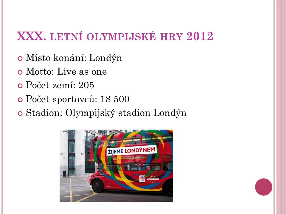 XXX. letní olympijské hry 2012