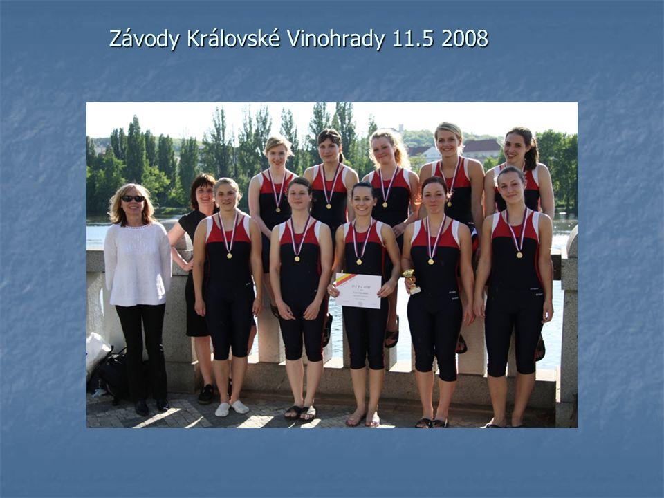 Závody Královské Vinohrady 11.5 2008