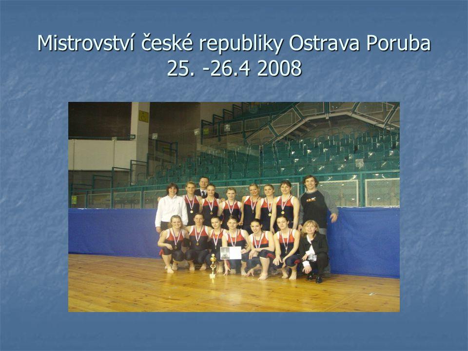 Mistrovství české republiky Ostrava Poruba 25. -26.4 2008
