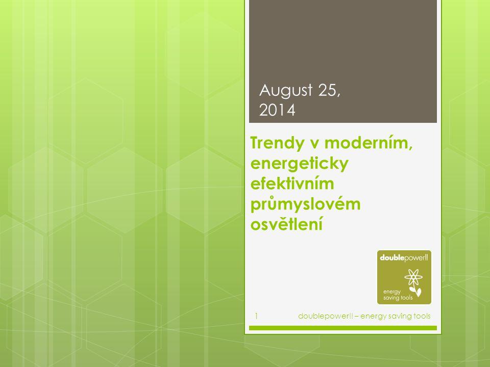 Trendy v moderním, energeticky efektivním průmyslovém osvětlení
